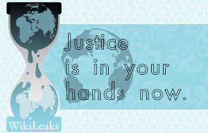 Justice is in Your Hands Now.